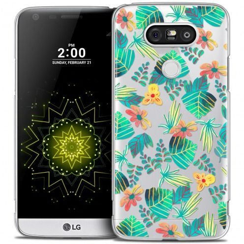 Extra Slim Crystal LG G5 Case Spring Tropical