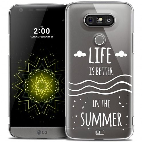 Extra Slim Crystal LG G5 Case Summer Life's Better
