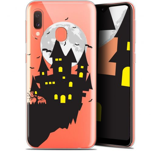 "Extra Slim Gel Samsung Galaxy A20E (5.8"") Case Halloween Castle Dream"