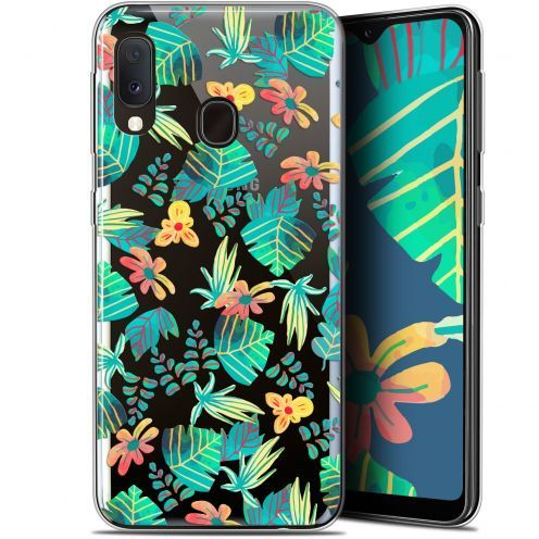 "Extra Slim Gel Samsung Galaxy A20E (5.8"") Case Spring Tropical"