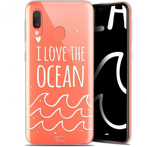 "Extra Slim Gel Samsung Galaxy A20E (5.8"") Case Summer I Love Ocean"