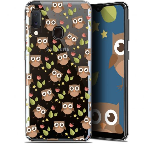 "Extra Slim Gel Samsung Galaxy A20E (5.8"") Case Summer Hibou"