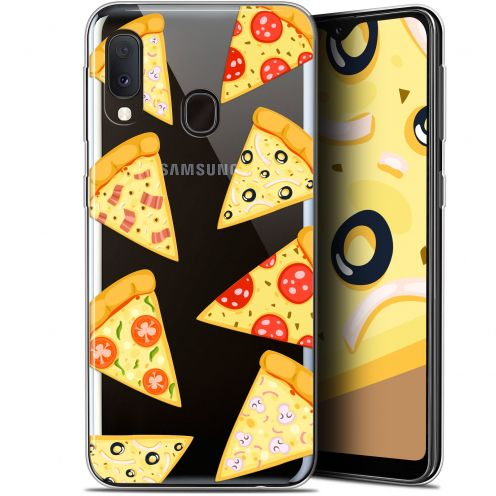 "Extra Slim Gel Samsung Galaxy A20E (5.8"") Case Foodie Pizza"