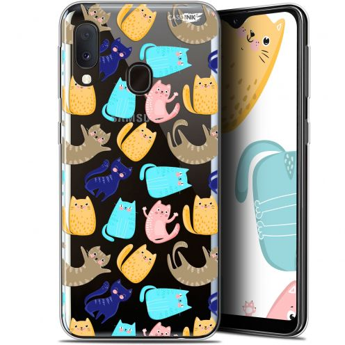 "Extra Slim Gel Samsung Galaxy A20E (5.8"") Case Design Chat Danse"