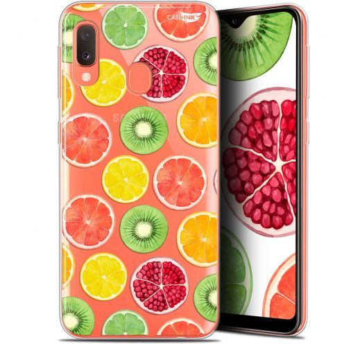 "Extra Slim Gel Samsung Galaxy A20E (5.8"") Case Design Fruity Fresh"
