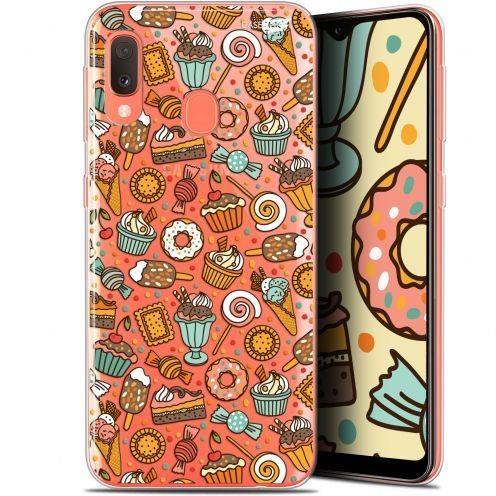 "Extra Slim Gel Samsung Galaxy A20E (5.8"") Case Design Bonbons"