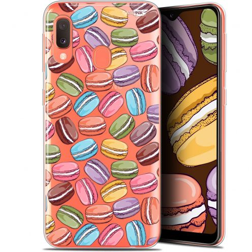 "Extra Slim Gel Samsung Galaxy A20E (5.8"") Case Design Macarons"