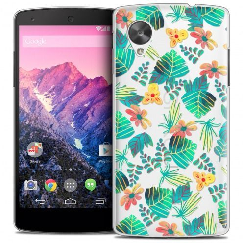 Extra Slim Crystal Nexus 5 Case Spring Tropical