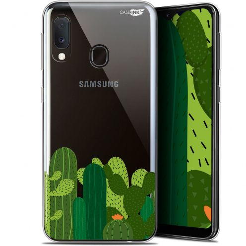 "Extra Slim Gel Samsung Galaxy A20E (5.8"") Case Design Cactus"