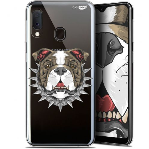"Extra Slim Gel Samsung Galaxy A20E (5.8"") Case Design Doggy"