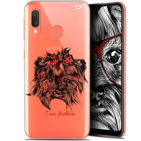 "Extra Slim Gel Samsung Galaxy A20E (5.8"") Case Design Fashion Dog"