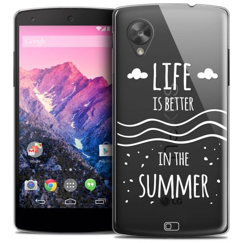 Extra Slim Crystal Nexus 5 Case Summer Life's Better