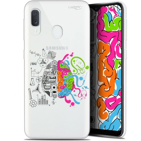 "Extra Slim Gel Samsung Galaxy A20E (5.8"") Case Design Le Cerveau"