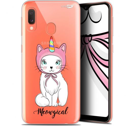 "Extra Slim Gel Samsung Galaxy A20E (5.8"") Case Design Ce Chat Est MEOUgical"