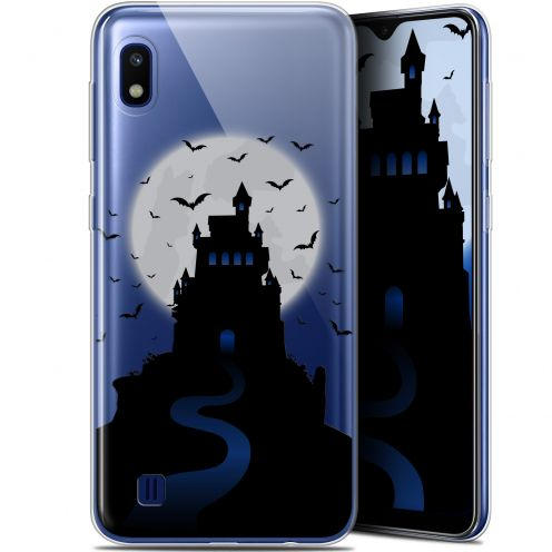 "Extra Slim Gel Samsung Galaxy A10 (6.2"") Case Halloween Castle Nightmare"
