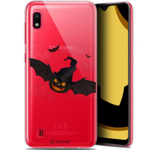 "Extra Slim Gel Samsung Galaxy A10 (6.2"") Case Halloween Chauve Citrouille"