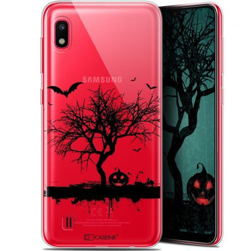 "Extra Slim Gel Samsung Galaxy A10 (6.2"") Case Halloween Devil's Tree"