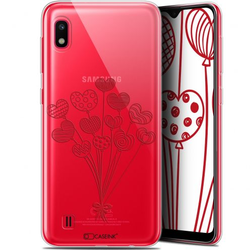 "Extra Slim Gel Samsung Galaxy A10 (6.2"") Case Love Ballons d'amour"