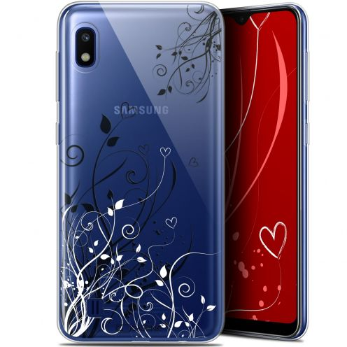 "Extra Slim Gel Samsung Galaxy A10 (6.2"") Case Love Hearts Flowers"