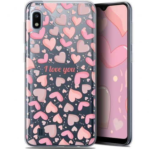"Extra Slim Gel Samsung Galaxy A10 (6.2"") Case Love I Love You"