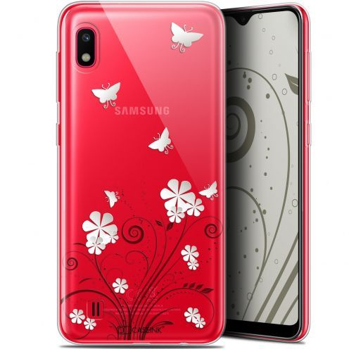 "Extra Slim Gel Samsung Galaxy A10 (6.2"") Case Summer Papillons"