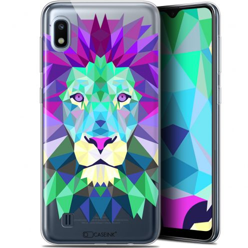 "Extra Slim Gel Samsung Galaxy A10 (6.2"") Case Polygon Animals Lion"