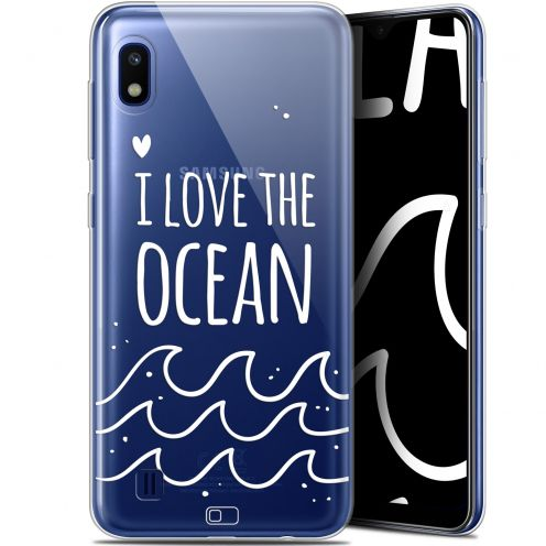 "Extra Slim Gel Samsung Galaxy A10 (6.2"") Case Summer I Love Ocean"