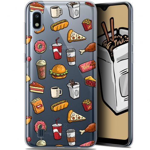 "Extra Slim Gel Samsung Galaxy A10 (6.2"") Case Foodie Fast Food"