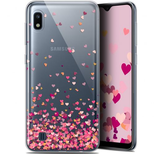 "Extra Slim Gel Samsung Galaxy A10 (6.2"") Case Sweetie Heart Flakes"