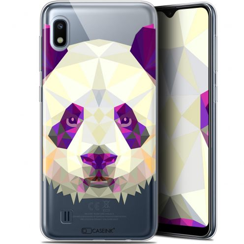 "Extra Slim Gel Samsung Galaxy A10 (6.2"") Case Polygon Animals Panda"