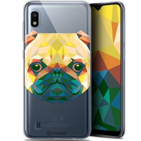 "Extra Slim Gel Samsung Galaxy A10 (6.2"") Case Polygon Animals Dog"