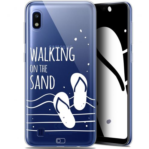 "Extra Slim Gel Samsung Galaxy A10 (6.2"") Case Summer Walking on the Sand"