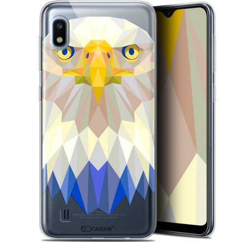 "Extra Slim Gel Samsung Galaxy A10 (6.2"") Case Polygon Animals Eagle"