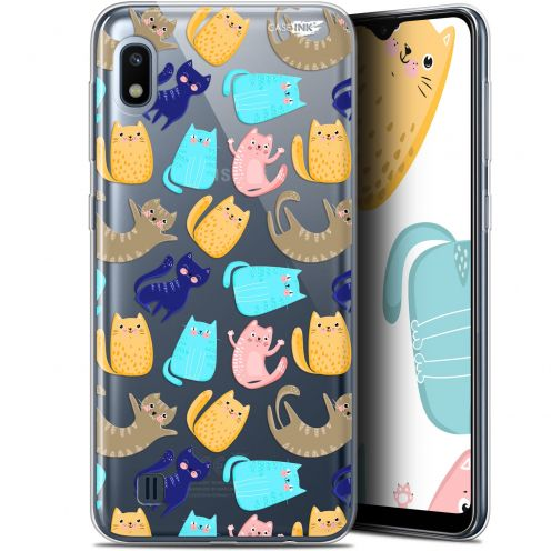 "Extra Slim Gel Samsung Galaxy A10 (6.2"") Case Design Chat Danse"