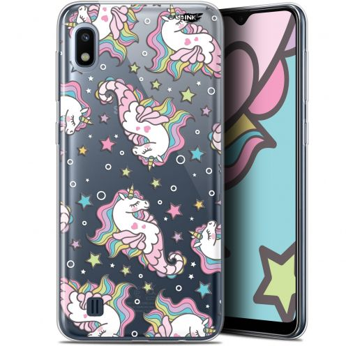 "Extra Slim Gel Samsung Galaxy A10 (6.2"") Case Design Licorne Dormante"