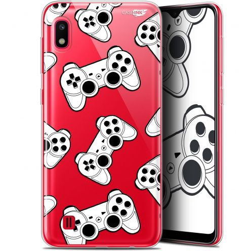 "Extra Slim Gel Samsung Galaxy A10 (6.2"") Case Design Game Play Joysticks"