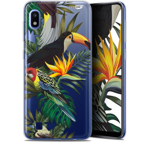 "Extra Slim Gel Samsung Galaxy A10 (6.2"") Case Design Toucan Tropical"