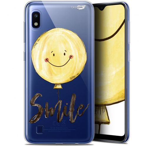 "Extra Slim Gel Samsung Galaxy A10 (6.2"") Case Design Smile Baloon"