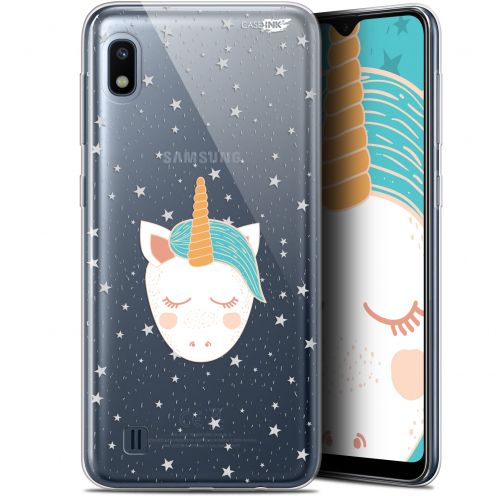"Extra Slim Gel Samsung Galaxy A10 (6.2"") Case Design Licorne Dors"