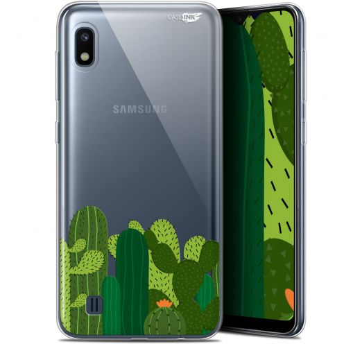 "Extra Slim Gel Samsung Galaxy A10 (6.2"") Case Design Cactus"