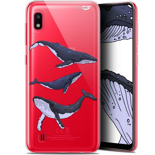 "Extra Slim Gel Samsung Galaxy A10 (6.2"") Case Design Les 3 Baleines"