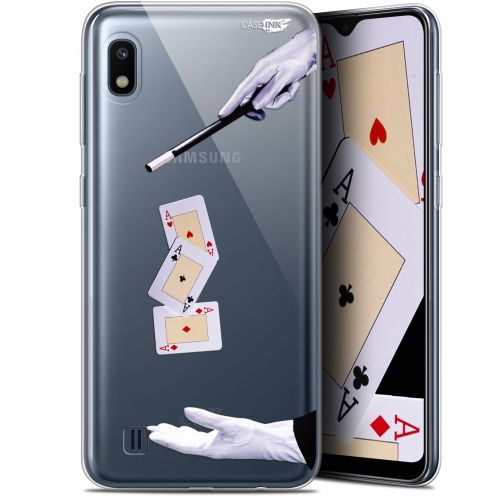 "Extra Slim Gel Samsung Galaxy A10 (6.2"") Case Design Cartes Magiques"