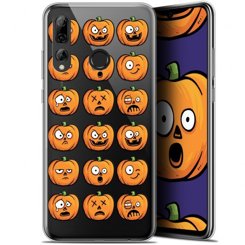"Extra Slim Gel Huawei P Smart+ / Plus 2019 (6.2"") Case Halloween Cartoon Citrouille"