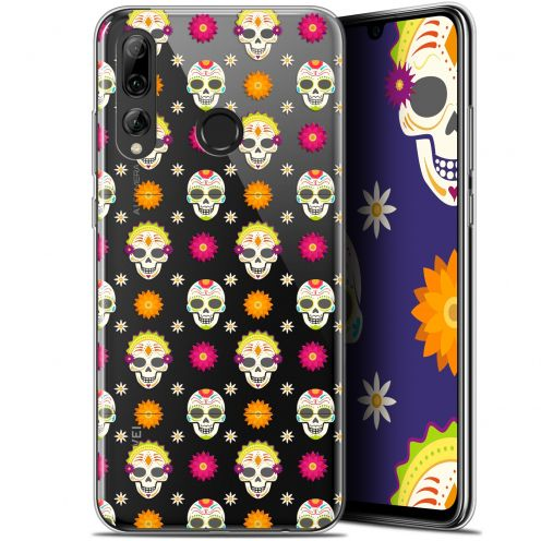 "Extra Slim Gel Huawei P Smart+ / Plus 2019 (6.2"") Case Halloween Skull Halloween"
