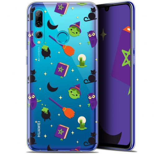 "Extra Slim Gel Huawei P Smart+ / Plus 2019 (6.2"") Case Halloween Witch Potter"