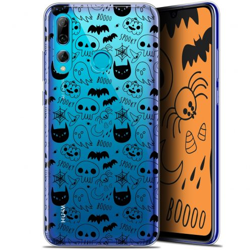 "Extra Slim Gel Huawei P Smart+ / Plus 2019 (6.2"") Case Halloween Spooky"