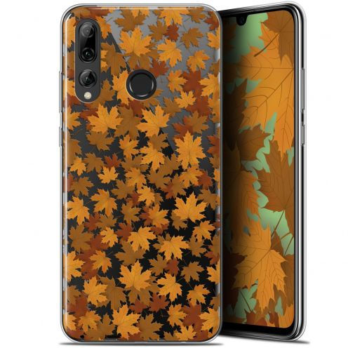 "Extra Slim Gel Huawei P Smart+ / Plus 2019 (6.2"") Case Autumn 16 Feuilles"