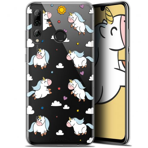 "Extra Slim Gel Huawei P Smart+ / Plus 2019 (6.2"") Case Fantasia Licorne In the Sky"