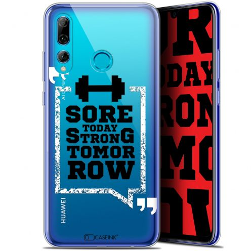 "Extra Slim Gel Huawei P Smart+ / Plus 2019 (6.2"") Case Quote Strong Tomorrow"