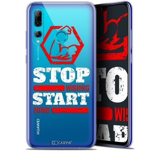 "Extra Slim Gel Huawei P Smart+ / Plus 2019 (6.2"") Case Quote Start Doing"